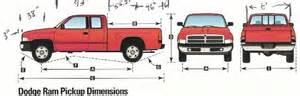 Dodge Ram 1500 Bed Size Dodge Ram Quad Cab Lwb 4wd Dimensions