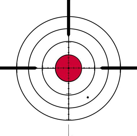 printable rifle sight in targets bullseye targets printable clipart best