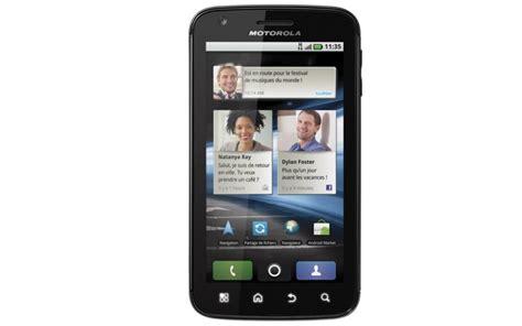 Banc D Essai Smartphone by Le Motorola Atrix Au Banc D Essaiandroid Mt