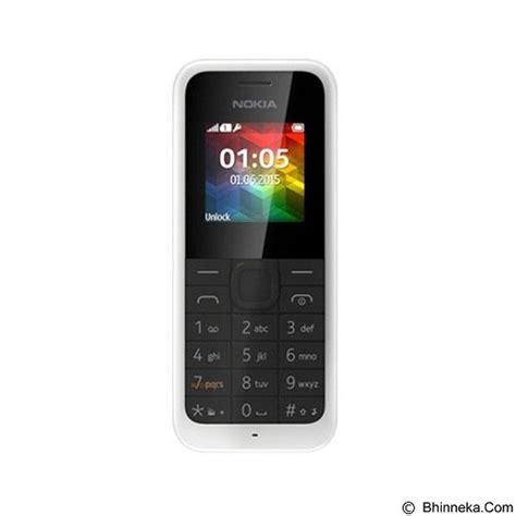 Berapa Hp Nokia Tipe 105 jual nokia 105 4mb rm 1134 putih merchant murah bhinneka