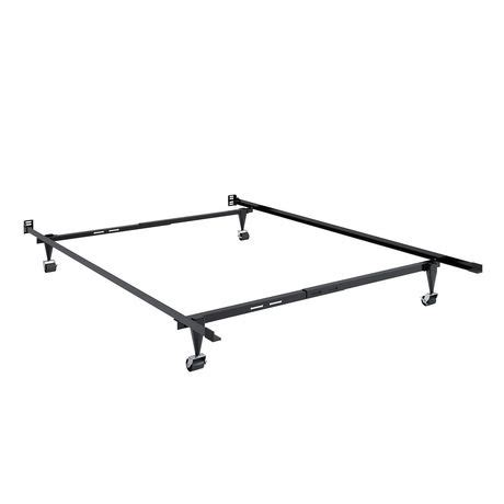 corliving adjustable metal bed frame walmart canada
