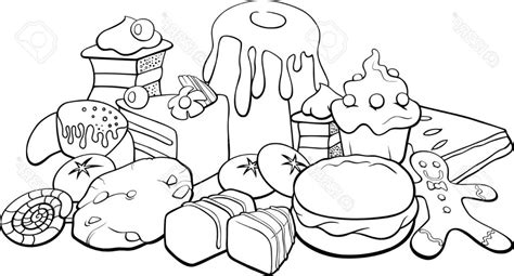 free coloring pages fast food coloring pages of food printable coloring image
