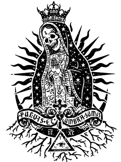 25 best ideas about la santa muerte tattoo on pinterest