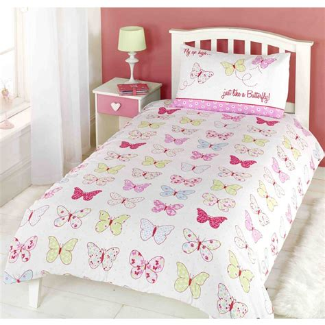 bed covers for girls kids childrens single bed size girls boys duvet cover