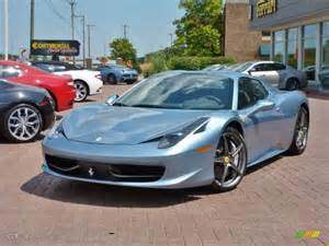 458 Italia Colors 2012 Azzuro California Blue Silver Metallic 458