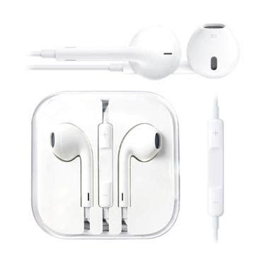 Headset Earphone Lenovo Original Putih jual apple iphone 5 original 100 headset earphone putih harga kualitas