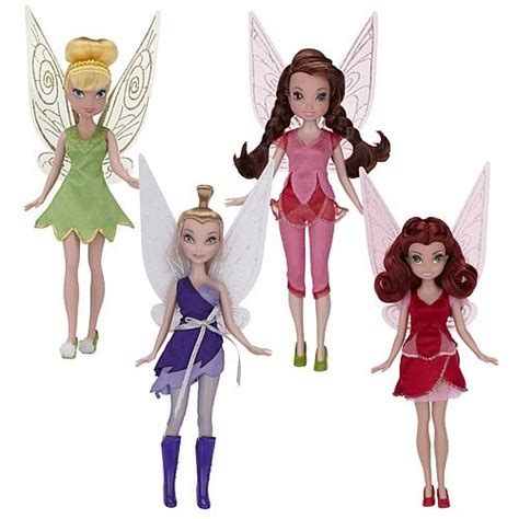 Figure Disney Tinkerbell Fashion disney fairies pixie hollow fashion dolls wave 4