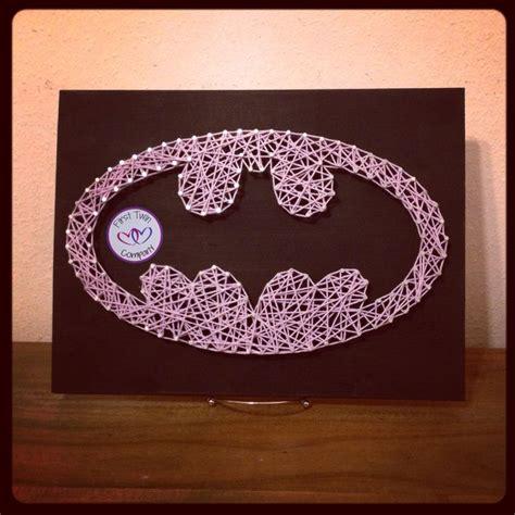 Batman String Pattern - batgirl batman string company