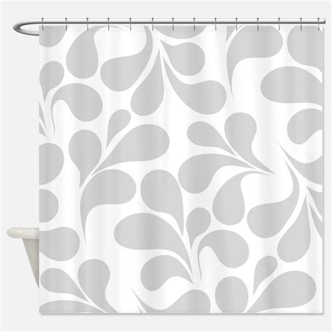 Gray And White Shower Curtains by Gray And White Shower Curtains Gray And White Fabric