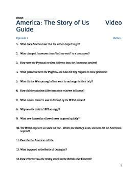 America The Story Of Us Rebels Worksheet by 28 America The Story Of Us Episode 7 Worksheet America The Story Of Us Worksheets