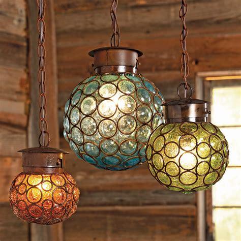 glass hanging light fixtures southwest glass sphere pendant lights