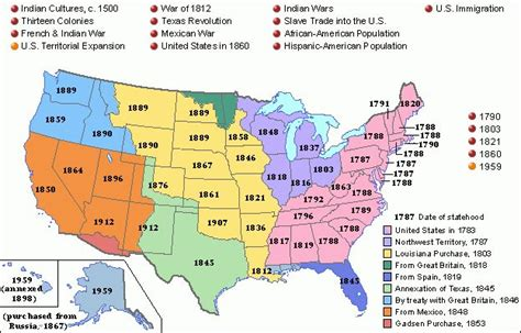 expansion of the united states map u s territorial expansion 1959 maps the united