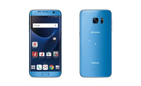 Samsung S8 Edge Docomo japon le galaxy s7 edge bleu corail arrivera chez ntt docomo le 8 d 233 cembre prochain galaxy s7