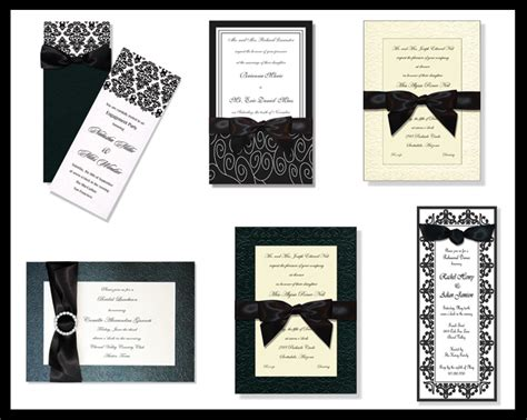 wedding invitations black tie event it s a black tie event