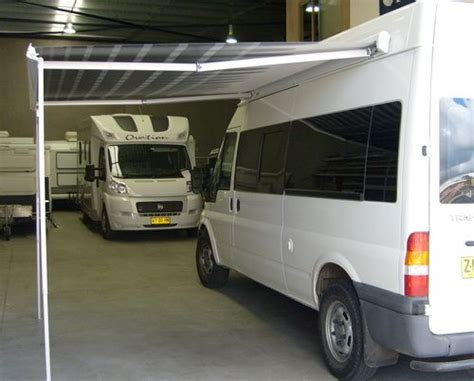 roll out awning for cervan roll out caravan awnings rainwear
