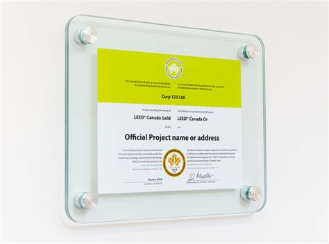 glass certificate frame with aluminum standoffs flickr