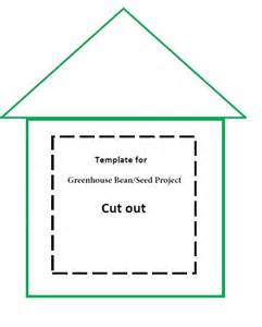 greenhouse bean seed project template for gardening