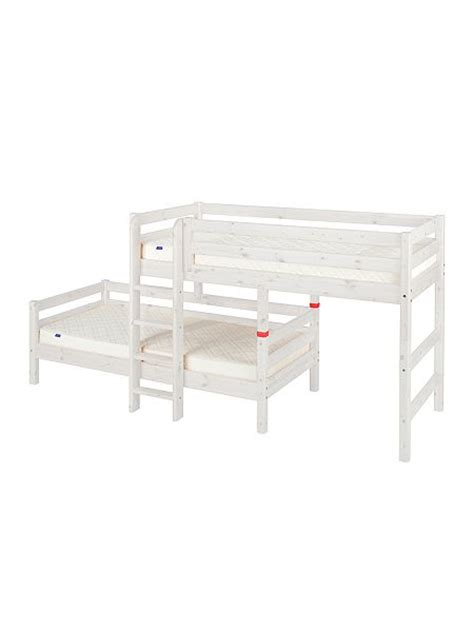 Flexa Mattress Size by Flexa Stepped Or Angled Bunk Beds With Ladder House Of