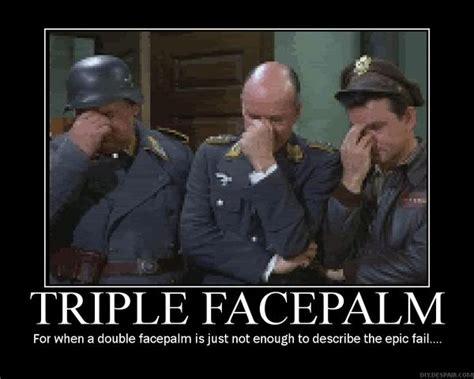 Meme Facepalm - image triple facepalm meme download