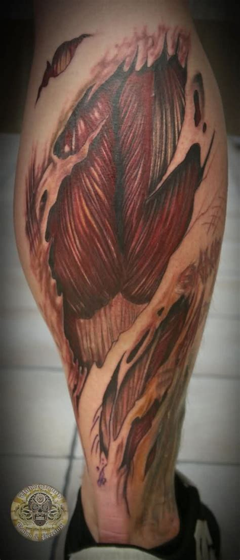 muscle tattoo designs 25 best ideas on anatomy