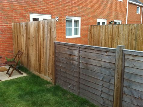 extend fence to be same height as rest fencing job in