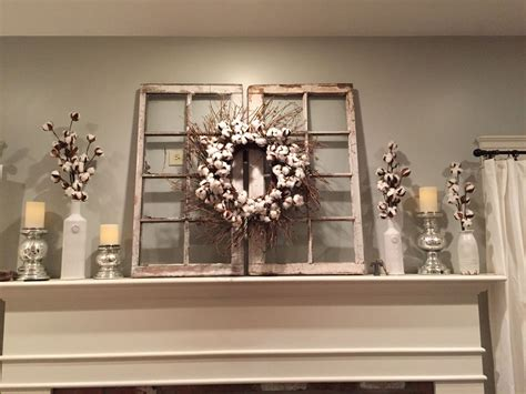 country home designs white window panes cream wall two magnolia market cotton wreath hgtv fixer upper for the