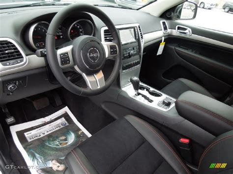 Jeep Trailhawk Interior Trailhawk Black Stitching Interior 2013 Jeep Grand