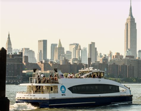 boat ride in new york city the nyc ferry an economical boat ride of see new york city