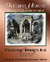 home design questionnaire planning kit home design product planner and questionnaire