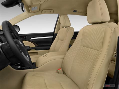 toyota highlander 2017 interior toyota highlander prices reviews and pictures u s