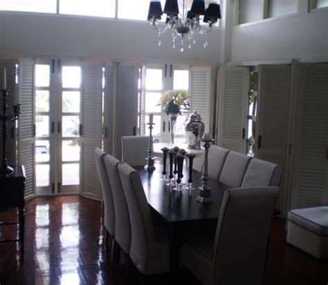 dining room light fixture less monochrome a interior louvered doors transitional dining room old village