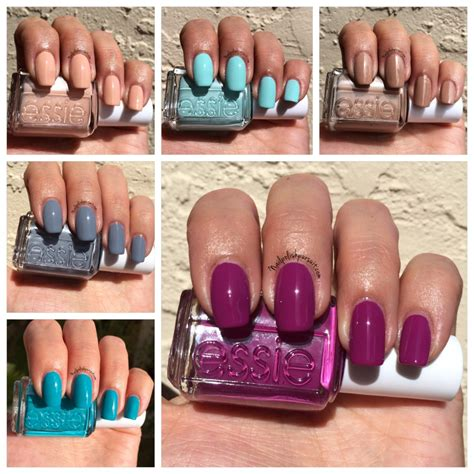 essie spring 2015 swatches essie spring 2015 collection swatches review the