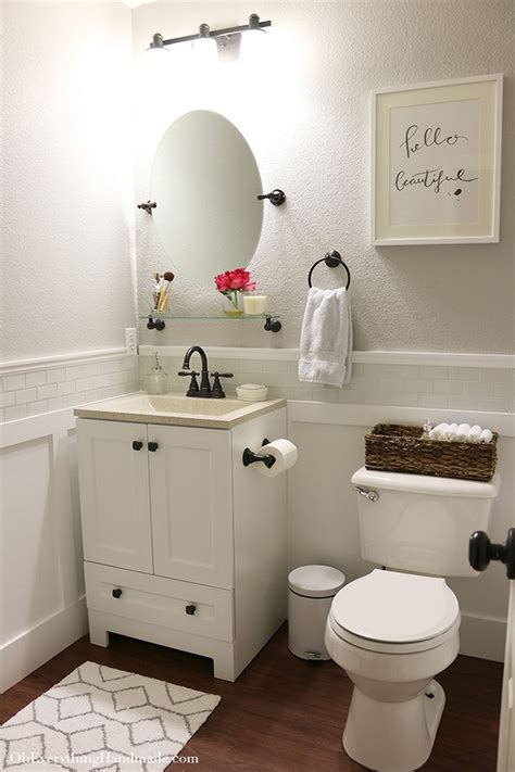 Best 25  Small Bathroom Makeovers Ideas on a Budget   DIY Design & Decor