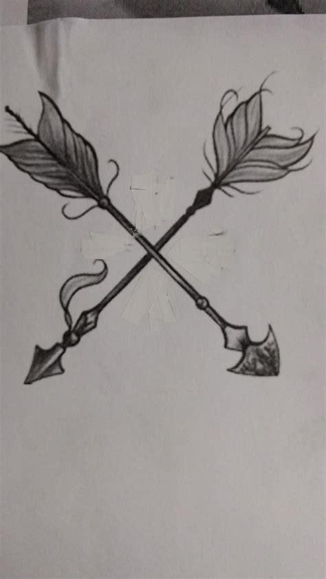 two arrows crossed tattoo meaning best 25 crossed arrow tattoos ideas on