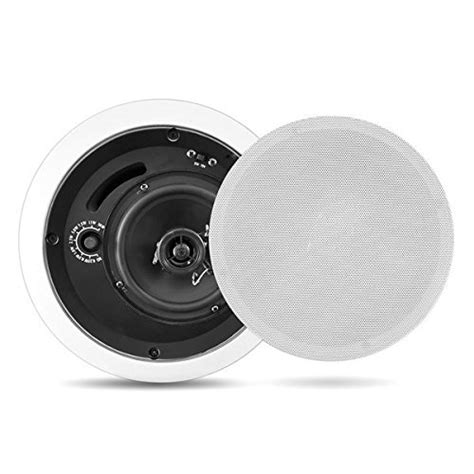 in ceiling speaker enclosure sound around pyle home pdpc5t 5 inch in ceiling flush