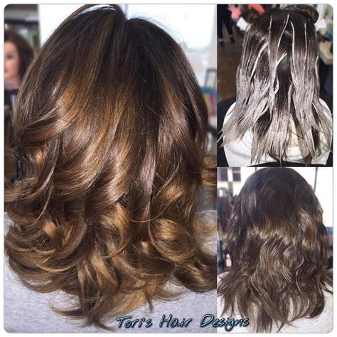notwalk ct black hair balayage highlights with wella freelights lifted to a