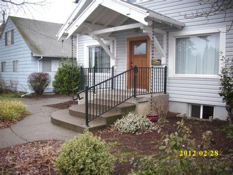 Metal Railings For Porches metal railing deck masters llc portland or