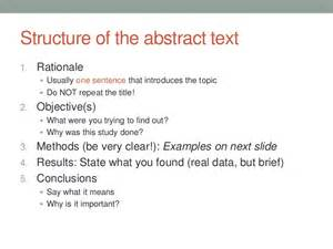 How To Write A Good Abstract For Research Paper How To Write A One Page Abstract