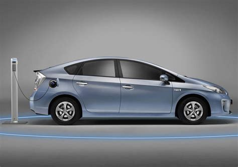 Toyota Prius Electric Toyota Prius In Hybrid Electric Vehicle