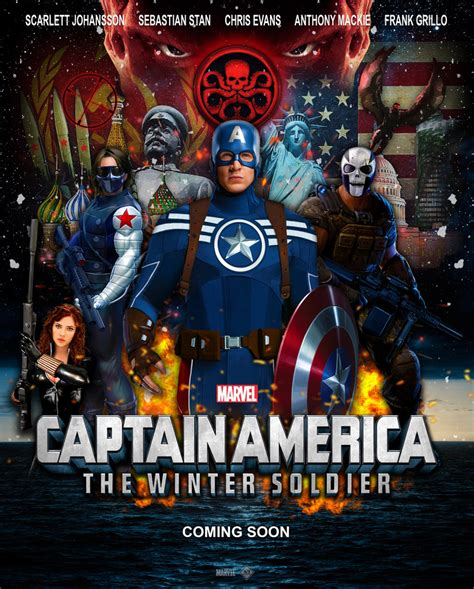 what of is captain captain america the winter soldier
