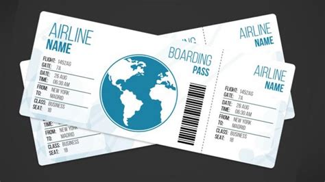 33 Free Ticket Templates Psd Mockups For Your Next Branding Project Plane Ticket Template