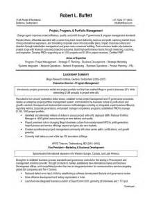 non profit program director resume sle project management director resume sle provided by