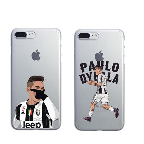 Casing Hardcase Hp Iphone 6 6s Messi 2017 X5083 coque sport football soccer ronaldo messi paulo dybala pogba plastic phone cover