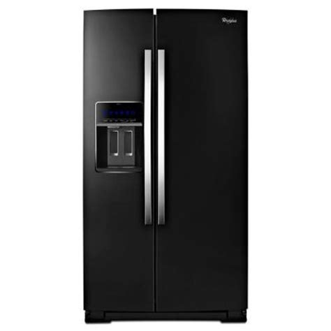 whirlpool gold 24 5 cu ft side by side refrigerator in
