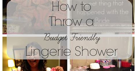Where To Throw A Bridal Shower by For The Of All Things Random How To Throw A Budget