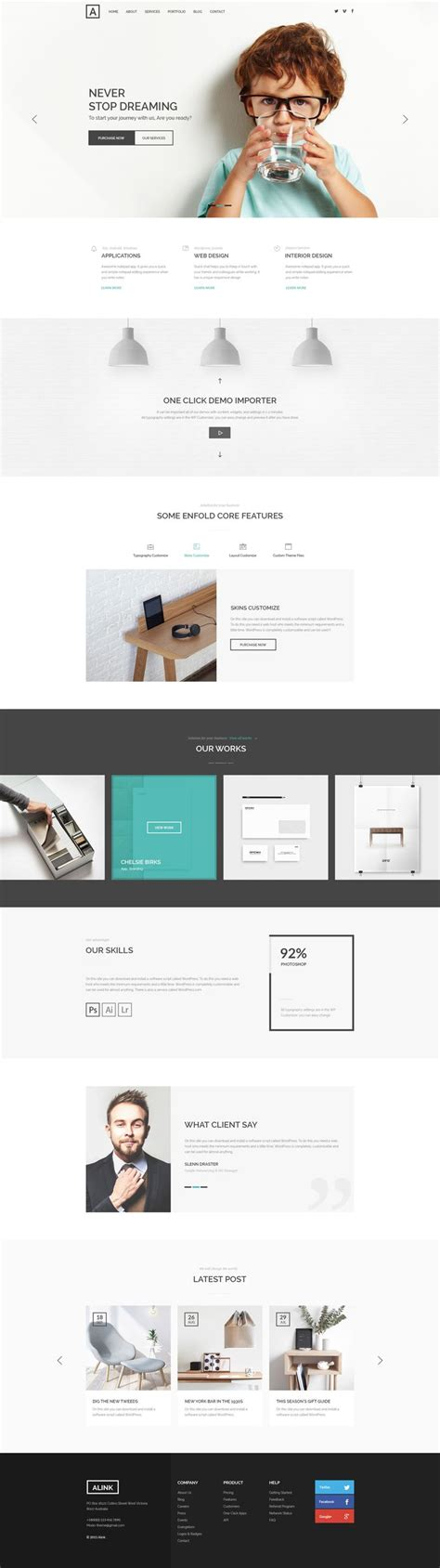 themeforest corporate template alink corporate psd psd templates themeforest web