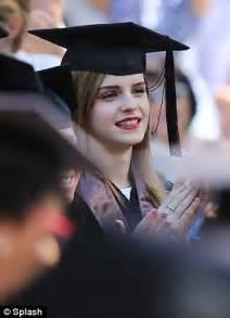 emma watson degree emma watson graduates brown university with armed guard