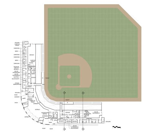 stadium floor plans bocas del toro baseball stadium rm design development