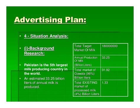 advertising plan advertising plan of nestle milk pack relaunch