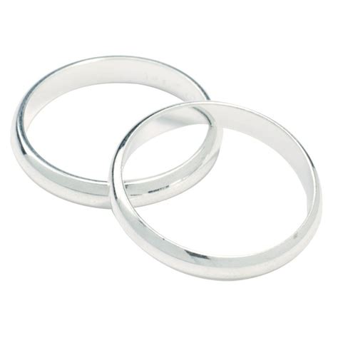 Ringe Silberhochzeit by Silver Colour Wedding Rings 17mm Culpitt